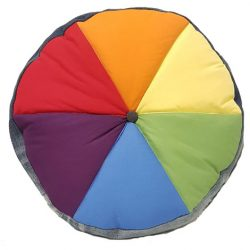 Colour wheel cushion